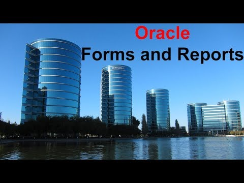 Oracle Forms & Reports Builder Tutorials (5 of 8) - Verifying the Installation and Configuration