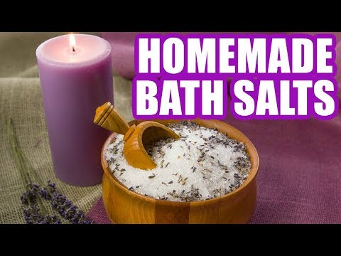 How to Make Bath Salts - Homemade Bath Salts Easy Recipe