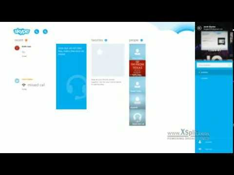 How to Get to Skype Settings from the Native Skype App in Windows 8/8.1