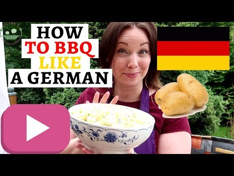 GERMAN GRILLPARTY: Part 1 - Side Dishes | Traditional German Potato Salad