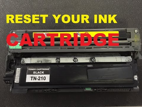 How To Refill / Reset Brother Tn-210 Toner Cartridge Brother HL-3070Cw