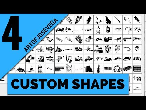 How To Create Custom Shapes In Photoshop – Episode 4