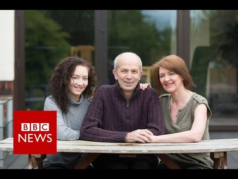 Family captures the reality of dementia on camera - BBC News