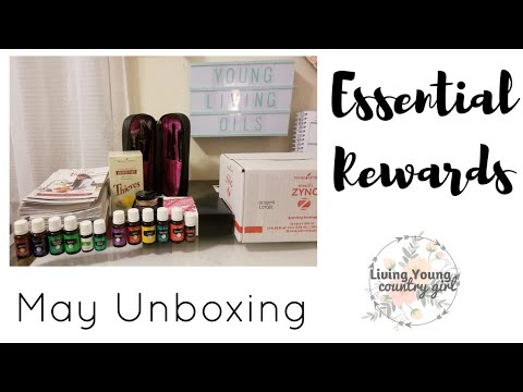 May : Essential Rewards Unboxing