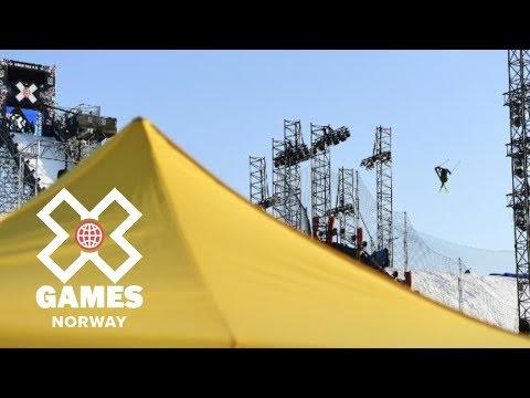 Øystein Bråten wins Men's Ski Big Air bronze   X Games Norway 2018
