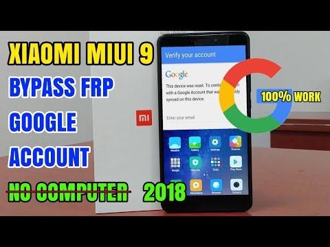 How To Bypass Frp Google Account Xiaomi MIUI 9 All Device | Tanpa Komputer/Pc 2018