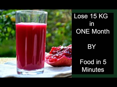 Lose Weight In A Month - Weight Loss Drink - Fat Burning Drink