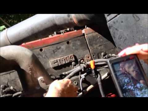 N14 Cummins Engine Video of ECM Sensors