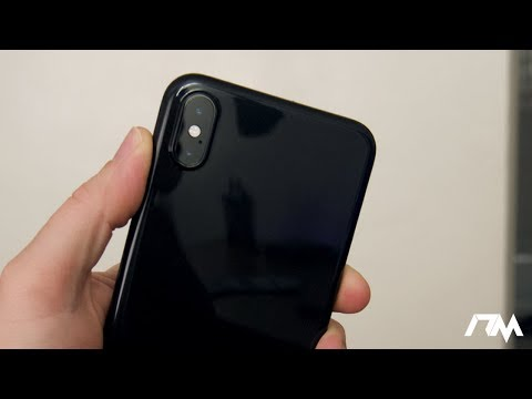 Make Your iPhone Xs Max JET BLACK! Ultra Thin Jet Black Case By Totallee Review