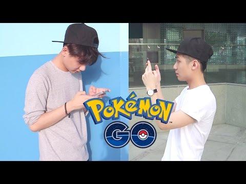 Playing Pokemon GO in Singapore