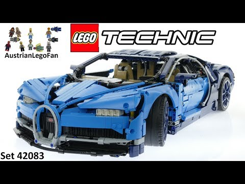 Lego Technic 42083 Bugatti Chiron - Lego Speed Build Review