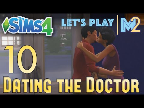 Let's Play The Sims 4 - Dating the Doctor (Eden Part 10)