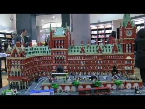 LEGO St Pancras at Waterstones Piccadilly