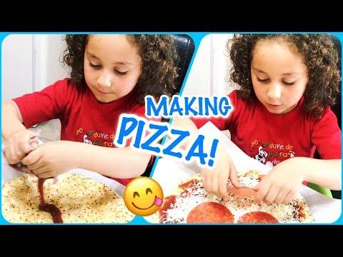 HOW TO MAKE EASY PIZZA, USING BOBOLI ORIGINAL PIZZA CRUST ~ KIDS LOVE IT!