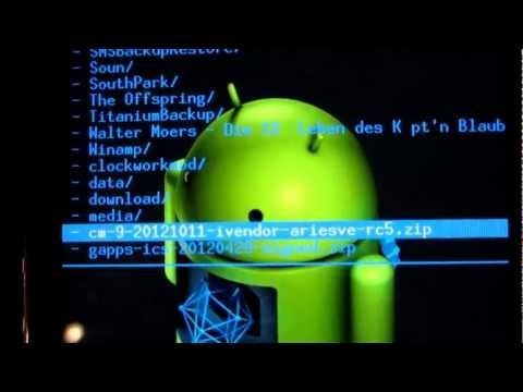 CyanogenMod 9 auf Galaxy S Plus installieren