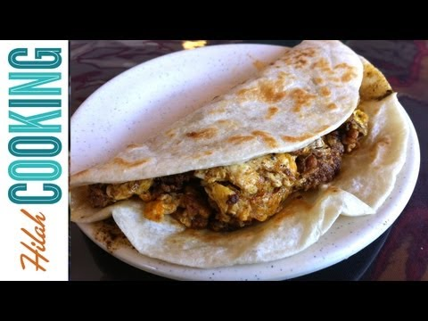 Hangover Tacos - How To Make Breakfast Tacos | Hilah Cooking Ep 3