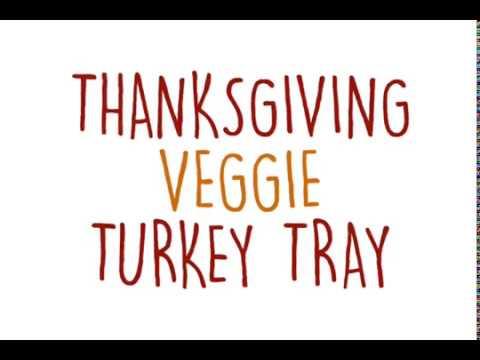 Thanksgiving Turkey Veggie Tray - The Produce Mom