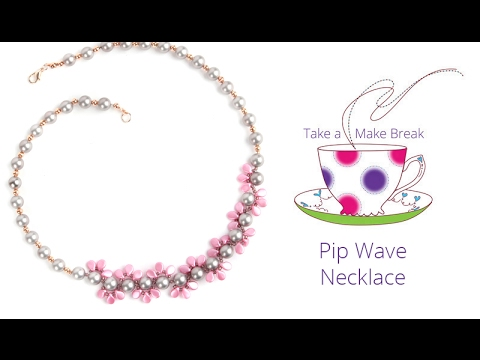 Pip Wave Necklace   Take a Make Break with Laura
