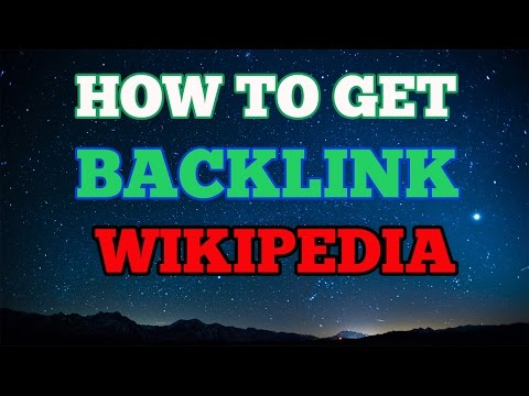 How to Get Backlinks from Wikipedia In Urdu Hindi
