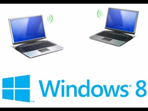 Set Up a Wireless internet connection in a minute in windows 8