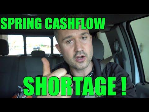 Spring Cashflow Shortage? Swamped & Broke