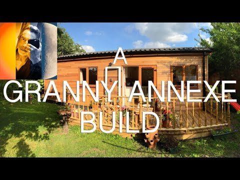 Granny Annexe Build: Home in the Garden: Time-Lapse: Flat Pack Home