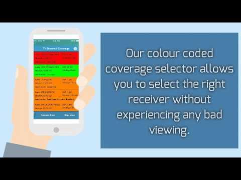 TV Signal Buddy - Mobile App for TV Signal Finder