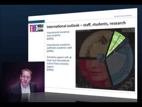 Three-minute guide: THE World University Rankings