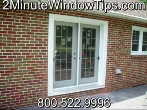2MinuteWindowTips open brick wall add Patio door