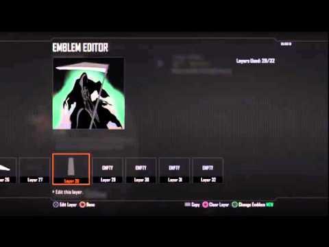 Bo2 Emblem - Grim Reaper