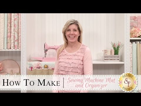 How to Make a Sewing Machine Mat | a Shabby Fabrics Sewing Tutorial