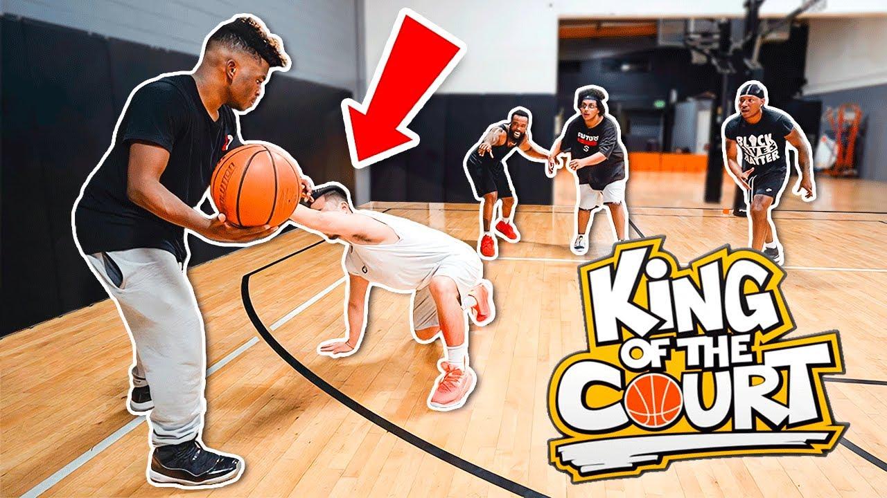 King Of The Court vs AMP! Ankles Hit The Floor!