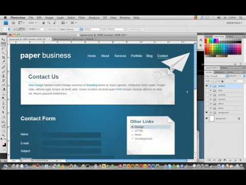 Wordpress Tutorial Trainer Part 11 - The PSD tutorial