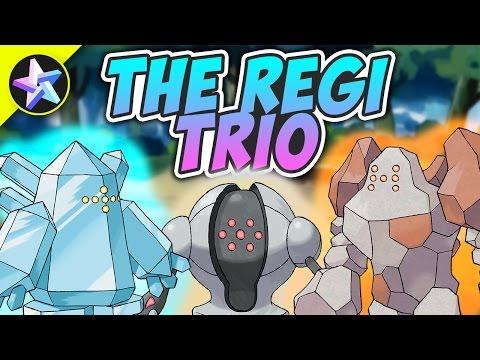 How To Find THE LEGENDARY REGI TRIO! - Pokemon Brick Bronze