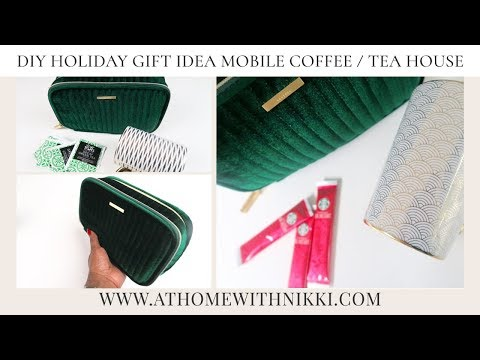 2017 DIY GIFT GIVING IDEA | HOW TO CREATE A MOBILE STARBUCKS!