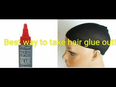 Best & Easiest Way to Remove Hair Glue!
