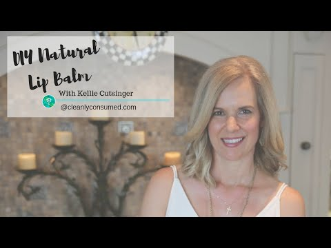 How to make a Natural Lip Balm | YOUNG LIVING™ Essential Oils