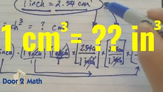 How Many Cubic Inches Is 1 Cubic Centimeter