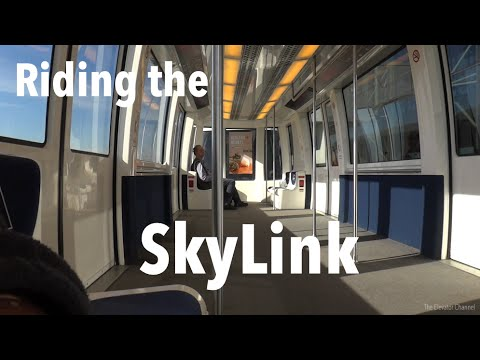 Riding the SkyLink at DFW Airport