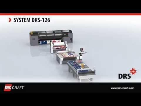 DRS 126 - (II gen.) Digital Road Sign Fabrication System (Printer, Laminator, Plotter, Applicator)