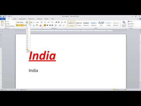 Format Painter in Microsoft Office Word in Hindi