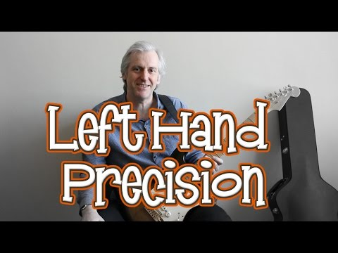 Developing precision and accuracy when playing scales