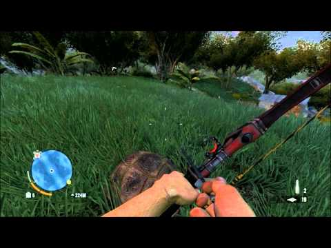 FarCry 3 Tiger attack, Tower climbing