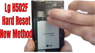 LG-F520L HARD RESET AND REMOVE MOBILE PASSWORD