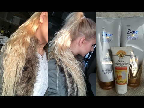 Long Curly Ponytail WITHOUT HEAT + Hair care