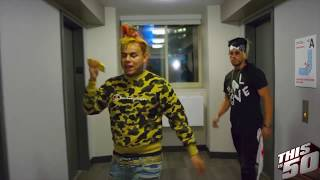 Enzo Runs Up on 6ix9ine in New York | Get The Strap