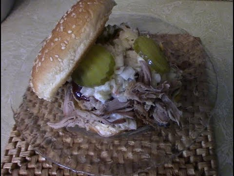 How to make southern pulled pork with recipe