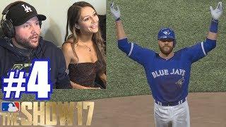 PLAYING LAUREN!   MLB The Show 17   Retro Mode #4