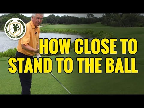 Golf Driver Tips - How Close Should You Stand To The Ball?