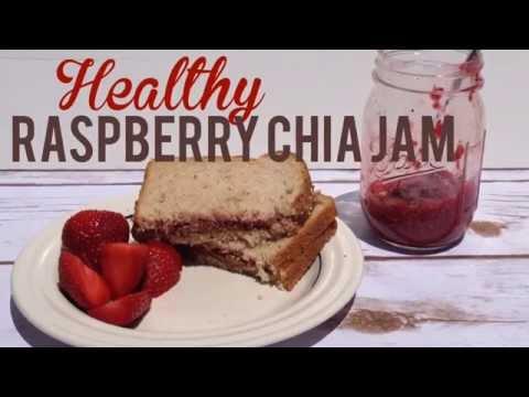 Healthy Raspberry Chia Jam Recipe!